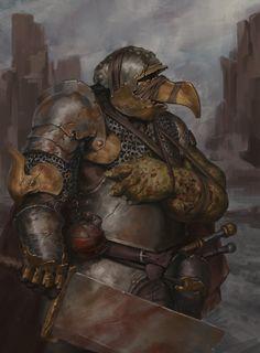 Pestilence Knight by Ted Ottosson High Fantasy, Dark Fantasy Art, Medieval Fantasy, Fantasy Inspiration, Character Design Inspiration, Dnd Characters, Fantasy Characters, Character Concept, Character Art