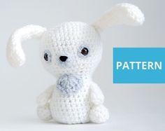 Bunny crochet PATTERN Amigurumi Pattern crochet от EvaPlanets
