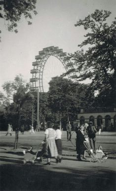 Vienna Prater 1930s Scenery Pictures, Old Pictures, Old Photos, Vintage Photos, Vienna Prater, Budapest, Anno Domini, Austro Hungarian, Vienna Austria