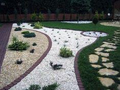Superb Gravel Landscaping Ideas Front Door Landscaping, Water Wise Landscaping, Gravel Landscaping, Landscaping With Rocks, Landscaping Ideas, Backyard Ideas, Garden Ideas, Lake Garden, Garden Park