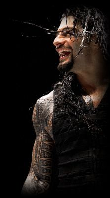 Happy Roman is happy and never fails to make me happy! :3