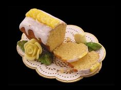 The English Kitchen Miniature Dollhouse Foods and Desserts Cakes and Gateaux