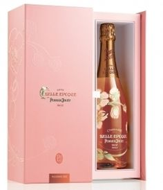 Perrier Jouet Belle Epoque Rose 2004 Vintage Champagne Gift Box