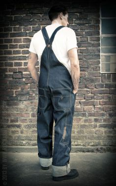 Rumble59 - Raw Selvage Dungarees - Rockabilly-Rules.com