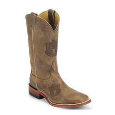Nocona Boots Men's Auburn Cowhide Branded Cowboy Boots   HorseLoverZ