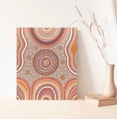 Indigenous Australian Art, Indigenous Art, Aboriginal Dot Painting, Aesthetic Painting, Irish Art, Unusual Art, Simple Prints, Native Art, Tribal Art