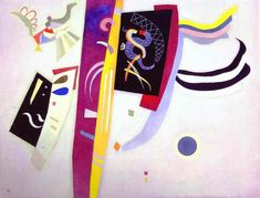 Orange-Violet -  Wassily Kandinsky