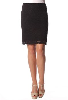 35420f9d4aacc S459 - Lace Skirt with Lining