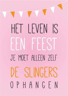 Het leven is te kort voor later! The Words, Cool Words, Wisdom Quotes, Words Quotes, Sayings, Qoutes, Happy Quotes, Best Quotes, Dutch Quotes