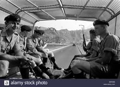 British Army In Aden: Men Of The Somerset And Cornwall Light Infantry Stock Photo, Royalty Free Image: 20624083 - Alamy