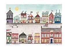 Art Prints | Great British High Street | Lucy Loveheart