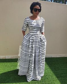 2019 Most Trending & Gorgeous African Ankara Designs For Damsels To Slay For These Week - Owambe styles African Maxi Dresses, African Attire, African Wear, Trendy Ankara Styles, Ankara Gown Styles, African Print Fashion, Africa Fashion, African Traditional Dresses, Schneider