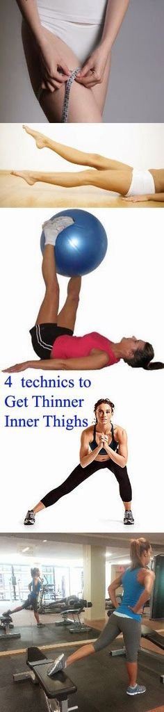 4 technics to Get Thinner Inner Thighs