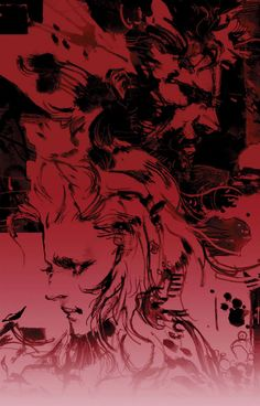 Naked Snake & Eva - Pictures & Characters Art - Metal Gear Solid 3: Snake Eater