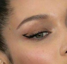 Cute Makeup Looks, Makeup Eye Looks, Eye Makeup Art, No Eyeliner Makeup, Eye Makeup Designs, Pretty Makeup, Skin Makeup, Eyeliner Ideas, Black Eyeliner
