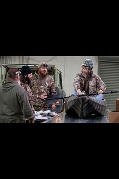 Who's idea was it to put mountain man on the conveyer belt anyway?