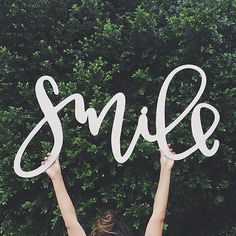Smile! You're awesome :)