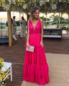 [New] The 10 Best Fashion Today (with Pictures) A Line Prom Dresses, Formal Evening Dresses, Evening Gowns, Wedding Dresses, Dress Formal, Look Chic, Look Style, Mode Inspiration, Party Dress