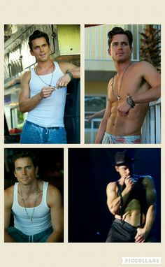 Matt Bomer in Magic Mike XXL inspiration for Chili