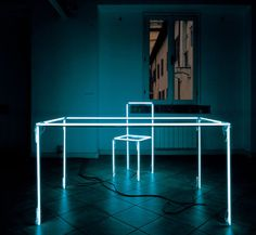 I've always been into light installations. this one by Massimo Uberti.