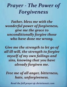 The Power Of Forgiveness, Forgiveness Quotes, Prayer Quotes, Prayer Scriptures, Bible Prayers, Life Skills Kids, Life Lessons, Valentines Notes, Holy Spirit Prayer