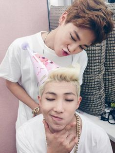 Jimin + Rap Monster