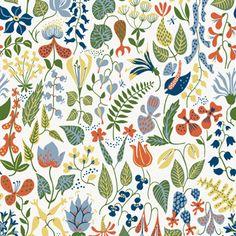 Herbarium 2743 - Scandinavian Designers - Boråstapeter