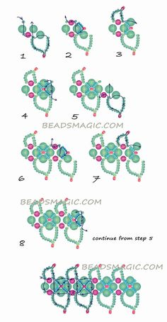 Free pattern for beautiful beaded necklace Altera | Beads Magic