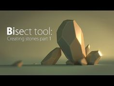 Blender Quick tip №5. Bisect: creating stone pt.1 - YouTube