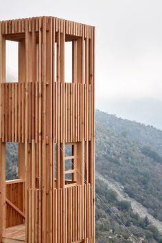 Minimalist Architecture, Modern Architecture House, Sustainable Architecture, Interior Architecture, Pavilion Architecture, Residential Architecture, Landscape Structure, Unusual Homes, Corsica