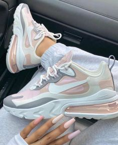 Latest sneakers from Nike and Adidas - Latest sneakers from Nike and Adidas Cute Nike Shoes, Cute Nikes, Nike Air Shoes, Nike Socks, Nike Casual Shoes, Pink Nike Shoes, Casual Sneakers, White Sneakers, Jordan Shoes Girls