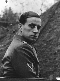 German Nazi physician Karl Brandt, director of the Euthanasia Program. August 27, 1942.