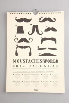 A whole year of moustaches!!