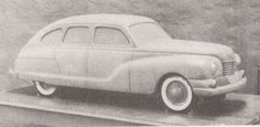 Proposed 1946 Lincoln Zephyr Facelift