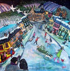 Helen Elliott Naive Art - http://www.helenelliott.net