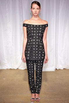 London Fashion Week, SS '14, Huishan Zhang