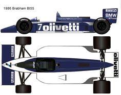 1986 Brabham Bt55