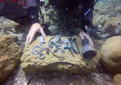 Encuentran un tesoro del período romano en aguas de Israel - http://diariojudio.com/noticias/encuentran-un-tesoro-del-periodo-romano-en-aguas-de-israel/177471/