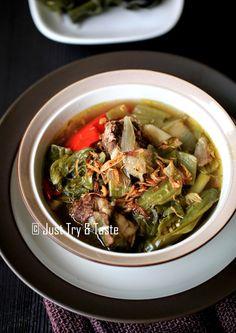 Just Try & Taste: Sup Iga Sapi Sawi Asin dengan Slow Cooker