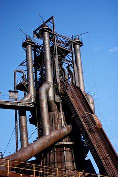 Blast Furnace by thekellyscope, via Flickr