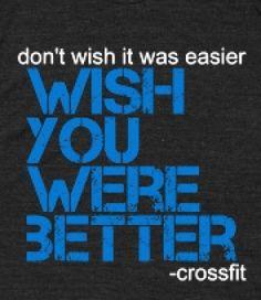 CROSSFIT: Wish -
