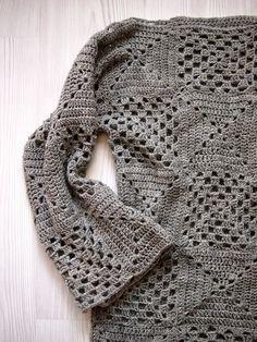 VMSomⒶ KOPPA - Granny square sweater