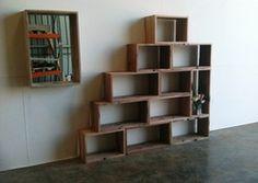 Recycled railway sleeper furniture
