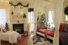 Рождественский дизайн интерьера   1 359 фотографий