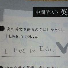 I live in Edo