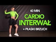 CARDIO INTERWAŁ - TRENING SPALAJĄCY TKANKĘ TŁUSZCZOWĄ / + PŁASKI BRZUCH - YouTube Fitness Inspiration, Cardio, Health Fitness, Sporty, Weight Loss, Workout, Youtube, Animals, Guys