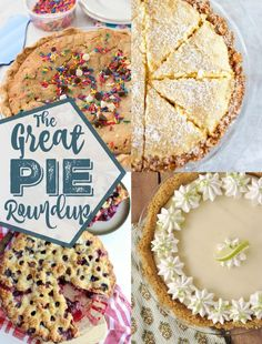 The Ultimate Pinterest Party, Week 131 | Are you a fan of #pies? The Great #Pie Roundup is here! | Pie dessert ideas perfect for Thanksgiving, Christmas, or any other time of the year! | dreamingofleaving.com
