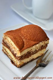 In my opinion Italian coffee is one of the best ways to illustrate the Italian way of life and la bella vita. Lemon Cheesecake Recipes, Chocolate Cheesecake Recipes, Dessert Cake Recipes, Polish Cake Recipe, Baking And Pastry, Sweet Treats, Food And Drink, Cakes, Sweets