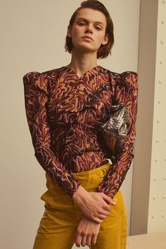Isabel Marant Pre-Fall 2018 Fashion Show Collection