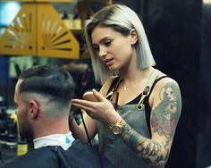 Not all barbers are the same. Find one that can deliver the style you are trying to achieve or has recommendations that are best for you, accommodates your request and is about the craft and not just the money. S/O @matildajean_ #melbourne #barber